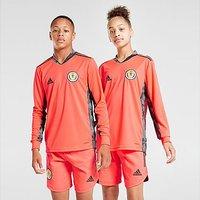 adidas Scotland FA 2020 Away Goalkeeper Shirt Junior - Red - Kids