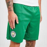 Puma Manchester City FC 2021/22 Away Goalkeeper Shorts - Green - Mens