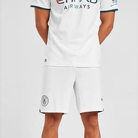 Puma Manchester City FC 2021/22 Away Shorts - White - Mens