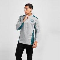 Puma Manchester City FC Quarter-Zip Training Top - Grey - Mens