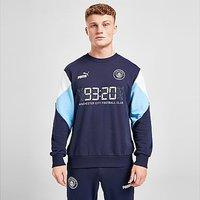 Puma Manchester City FC Culture Sweatshirt - Navy - Mens