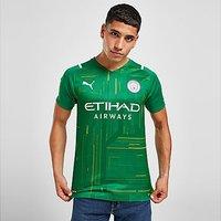 Puma Manchester City FC 2021/22 Away Goalkeeper Jersey - Green - Mens