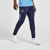 Puma Manchester City FC Pre Match Track Pants - Navy - Mens