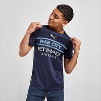 Puma Manchester City FC 2021/22 Third Shirt - Navy - Mens