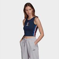 adidas Originals 3-Stripes Tank Top - Navy - Womens