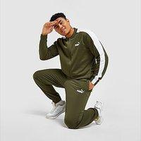 Puma Poly Tracksuit - Green - Mens