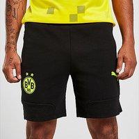 Puma Borussia Dortmund Travel Shorts - Black - Mens