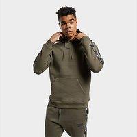 Reebok training essentials tape hoodie - Army Green - Mens
