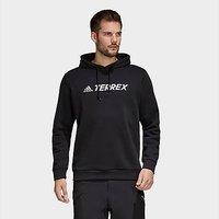 adidas Terrex Graphic Logo Hoodie - Black - Mens