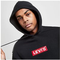 Levis Box Tab Hoodie - Black - Mens
