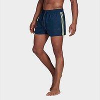 adidas Classic 3-Stripes Swim Shorts - Legend Ink - Mens