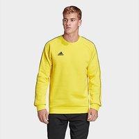 adidas Core 18 Sweatshirt - Yellow - Mens