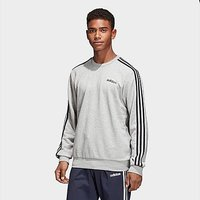 adidas Essentials 3-Stripes Sweatshirt - Medium Grey Heather  - Womens