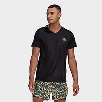 adidas Fast Primeblue T-Shirt - Black  - Mens