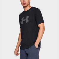 Under Armour big logo short sleeve t-shirt - Black - Mens