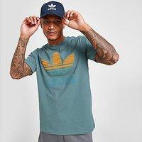 adidas Originals Trefoil Ombre T-Shirt - Hazy Emerald - Mens