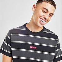 Levis Baby Tab Stripe T-Shirt - Grey - Mens