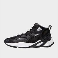 adidas Exhibit A Mid Shoes - Core Black
