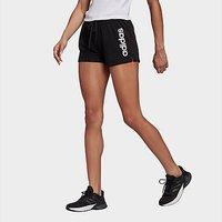 adidas Core Linear Logo Shorts - Black