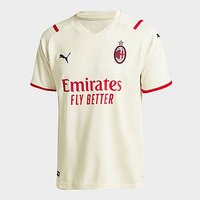 Puma AC Milan FC 2021/22 Away Shirt Junior - White - Kids