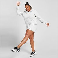 Champion Core Fleece Plus Size Shorts - Grey - Womens