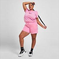 Champion Core Fleece Plus Size Shorts - Pink - Womens