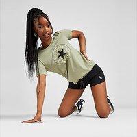 Converse Core Chevron Shorts - Black - Womens