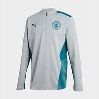 Puma Manchester City FC Quarter-Zip Training Top Junior - Grey - Kids