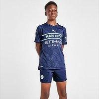 Puma Manchester City FC 2021/22 Third Shorts Junior - Navy - Kids