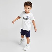 Puma Essential Logo T-Shirt/Shorts Set Infant - White - Kids