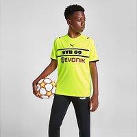 Puma Borussia Dortmund 2021/22 Cup Shirt Junior - Yellow - Kids
