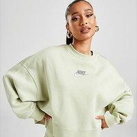 Nike Double Futura Crew Sweatshirt - Green - Womens