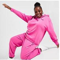 Nike Trend Fleece Plus Size Joggers - Pink - Womens