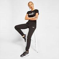 Puma Core Fleece Joggers - Black - Womens