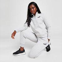 Puma Core Fleece Joggers - Grey - Womens