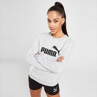 Puma Core Crew Sweatshirt - Grey - Womens