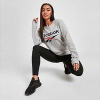 Reebok Core Logo Crew Neck Sweatshirt - Grey - Womens