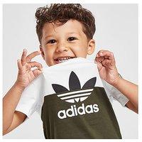 adidas Originals Sliced T-Shirt/Shorts Set Infant - Green - Kids