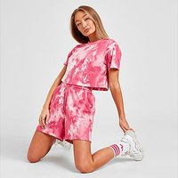 adidas Originals Tie Dye Boyfriend Shorts - MULTI COLOUR - Womens