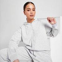 McKenzie Essential Full Zip Boyfriend Hoodie - GREY - Womens