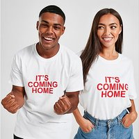 JD England 'It's Coming Home' T-Shirt - White - Womens