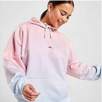 Ellesse Fade Logo Hoodie - Pink - Womens