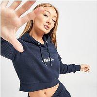 Ellesse Core Crop Overhead Hoodie - Navy - Womens