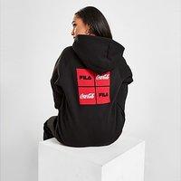 Fila x Coca-Cola Logo Oversized Hoodie - Black - Womens