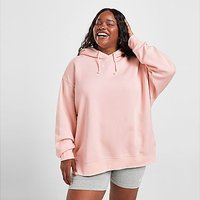 Nike Plus Size Trend Fleece Overhead Hoodie - Pale Coral - Womens