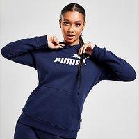 Puma Core Overhead Hoodie - Navy - Womens