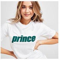 Prince Core Logo T-Shirt - White - Womens