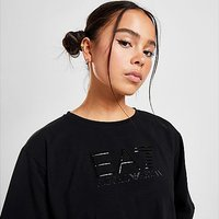 Emporio Armani EA7 Gloss Logo T-Shirt - Black