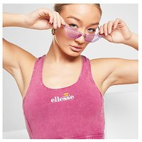 Ellesse Acid Wash Bralette - Pink - Womens