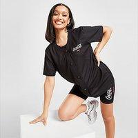 Fila x Coca-Cola Back Logo Baseball Top - Black - Womens